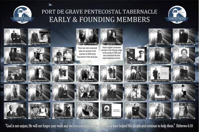 PDG Pentecostal Tabernacle Founding Members